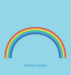 Trendy rainbow creative icon design vector