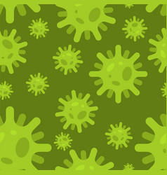 Virus pattern seamless bacterium background cell vector