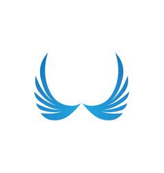 wing logo symbol for a professional designer vector image