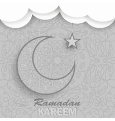 Ramadan Greetings Background Ramadan Kareem vector image