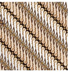 Batik parang vector