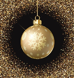 christmas bauble background 0809 vector image
