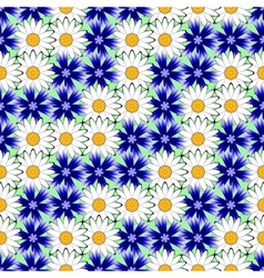 Design seamless colorful floral decorative pattern vector image