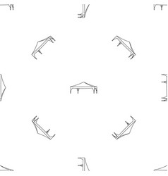 Event tent pattern seamless vector