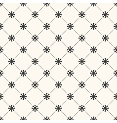Seamless pattern of sun shape and line Endless vector