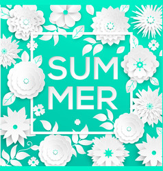 summer - modern colorful vector image