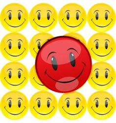 smiley vector image vector image