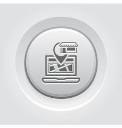 Store location icon vector