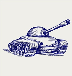 Main Battle Tank vector image