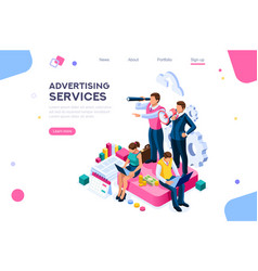 Access to client homepage vector