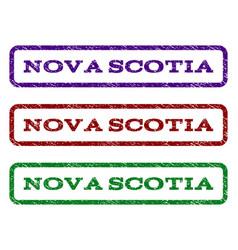 Nova scotia watermark stamp vector