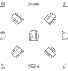 thermo clothes pattern seamless vector image