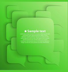 Chat background green vector