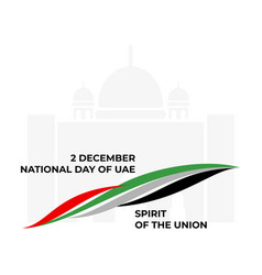 color background united arab vector image