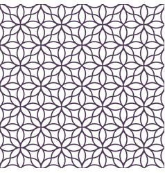 Delicate monochrome seamless flower pattern vector