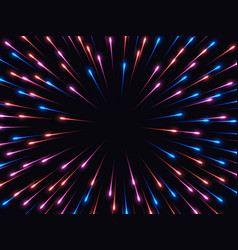 High speed abstract explosion background vector