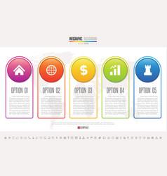 Infographics design template vector