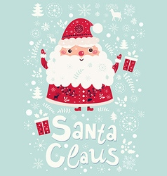 Santa Claus design vector image