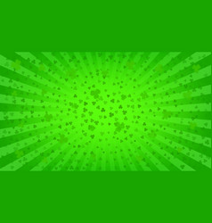 st patricks day bright background vector image