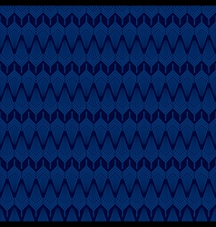 creative classic design pattern in blue background vector image vector image