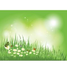 nature scene vector image vector image