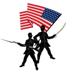 happy veterans day vector image vector image