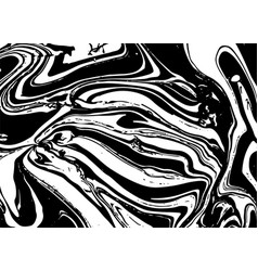 abstract marble background ink texture vector image