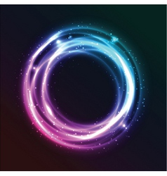 abstract neon vector image