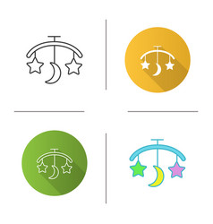 Babed carousel icon vector