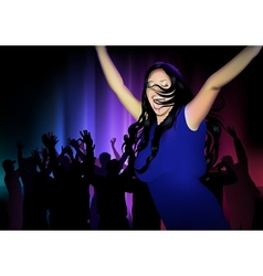 Dance Club vector image