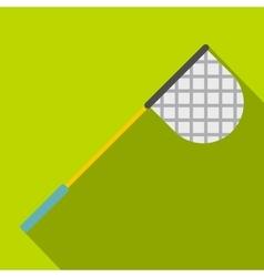Fishing net icon flat style vector image