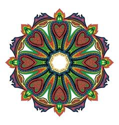 Hearts Mandala vector