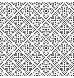 pattern 1240 arabic pattern vector image