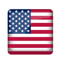 United states campaign button vector