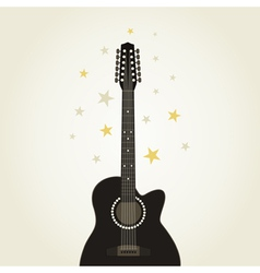 Guitar9 vector image vector image