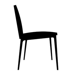 Chair simple icon vector image
