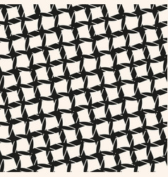 black and white seamless pattern with diagonal vector image