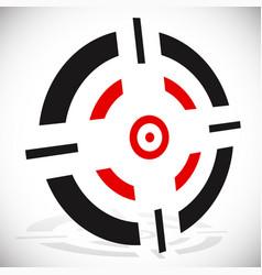 Crosshair reticle graphics eps 10 vector