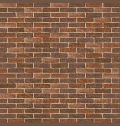 Retro brick wall vector