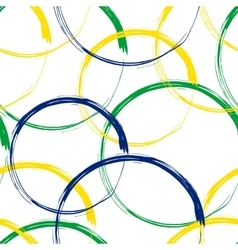 Rio 2016 Brazil Games Abstract Colorful Seamless vector image
