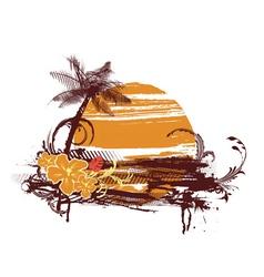 Summer t-shirt design vector