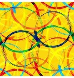Rio 2016 Brazil Games Abstract Colorful Seamless vector image vector image