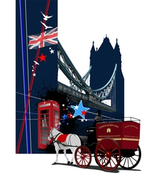 london image 001 vector image vector image