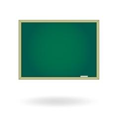 Blank chalk board Drawing cartoon vector image vector image