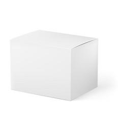 white box on white background for design vector image vector image