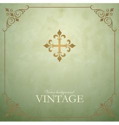 Vintage vector image vector image