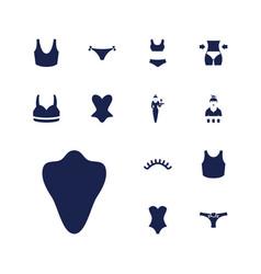 13 sexy icons vector