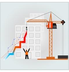 Building graph vector image