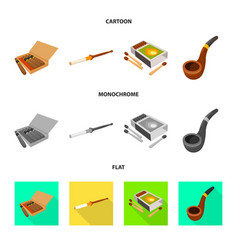 isolated object accessories and harm icon vector image