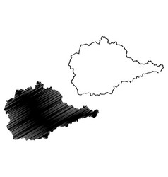 Jewish autonomous oblast map vector